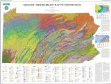 Pennsylvania geologic map