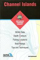 Channel Islands fishing map