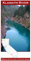 Klamath River fishing map