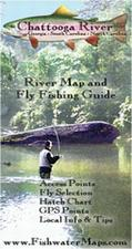 Chattooga River Fishing Map