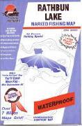 Rathbun Reservoir fishing map