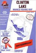 Lake Clinton fishing map