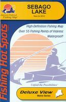 Maine fishing maps