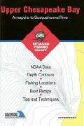 Upper Chesapeake Bay saltwater fishing map