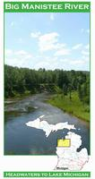 Big Manistee River fishing map