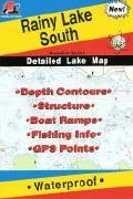 Rainy Lake fishing map
