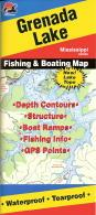 Grenada Lake fishing maps