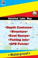 Lake Winnipesaukee fishing maps