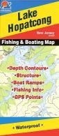 Lake Hopatcong fishing map