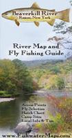 Beaverkill River fishing map