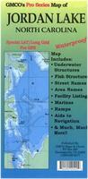 Jordan Lake map