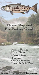 Trask River Fishing Map