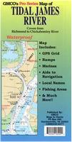Tidal James River map