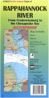 Rappahannock River map