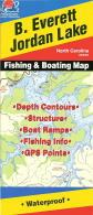 B. Everett Jordan fishing map