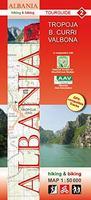 Albania hiking maps