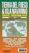 Isla Navarino hiking map