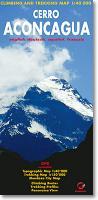 Aconcagua climbing map
