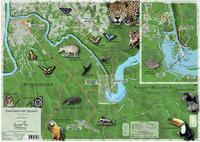 Iguazu Falls hiking map