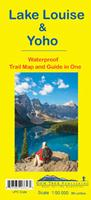 Lake Louise and Yoho hiking map