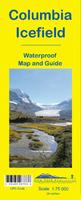 Columbia Icefields hiking map