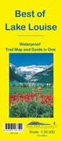 Best of Lake Louise Hiking Map