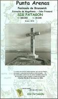 Punta Arenas hiking map