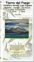 Tierra del Fuego hiking map