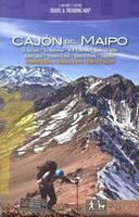 Cajon del Maipo hiking map