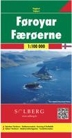 Faroe hiking map