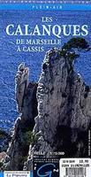 Les Calanques hiking map