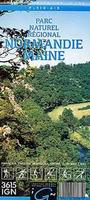 Normandie hiking map