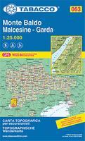 Monte Baldo map