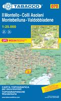 Il Montello hiking map