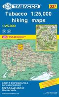 Tabacco hiking maps