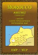 Morocco hiking maps