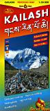 Kailash hiking map