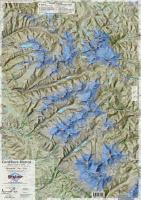 Cordillera Blanca hiking map