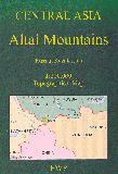 Altai Mountains hiking map