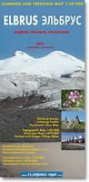 Mt. Elbrus hiking map