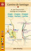 Camino de Santiago maps book