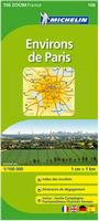 Paris Environs map