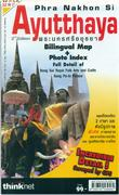 Ayutthaya walking map