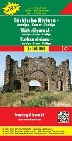 Turkish Riviera travel map