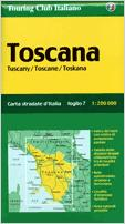 Italy touring maps