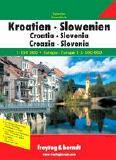 Croatia road atlas
