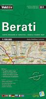Berati prefecture map