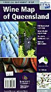 Queensland wine map
