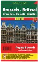 Brussels street map