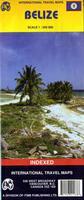 Belize travel map